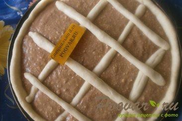 Пирог с шоколадно-тыквенным пюре Шаг 16 (картинка)
