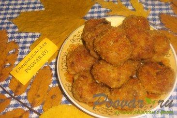Куриные мини-котлеты с вялеными помидорами Изображение