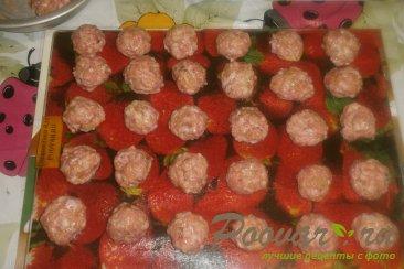 Куриные мини-котлеты с вялеными помидорами Шаг 8 (картинка)