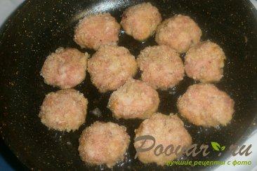 Куриные мини-котлеты с вялеными помидорами Шаг 10 (картинка)