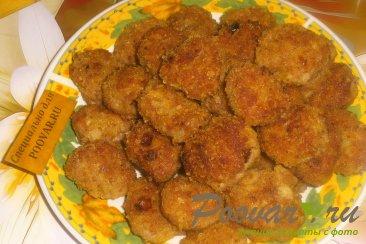 Куриные мини-котлеты с вялеными помидорами Шаг 12 (картинка)