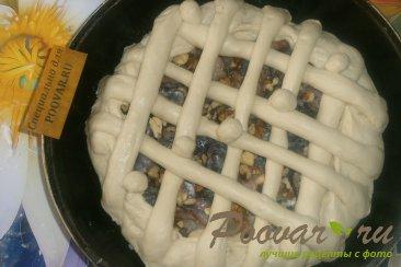 Пирог со сливой и орехами Шаг 13 (картинка)