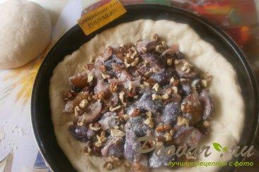 Пирог со сливой и орехами Шаг 12 (картинка)