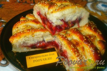 Пирог со сливой и орехами Шаг 16 (картинка)