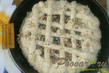 Пирог со сливой и орехами Шаг 14 (картинка)