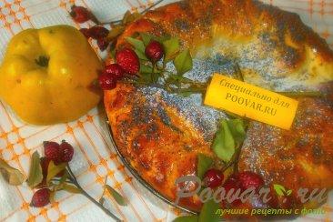 Пирог с айвой Изображение