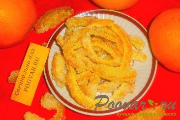 Цукаты с ванилью из апельсиновых корок Изображение