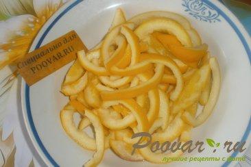 Цукаты с ванилью из апельсиновых корок Шаг 2 (картинка)