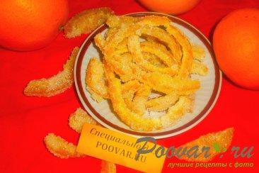 Цукаты с ванилью из апельсиновых корок Шаг 9 (картинка)