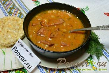 Тушеная фасоль с колбасками в томатном соусе Шаг 8 (картинка)