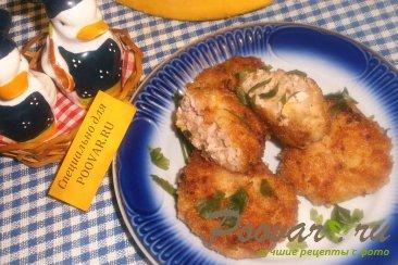 Куриные котлеты с кабачками и тыквой Изображение