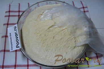 Пицца домашняя с колбасой и сыром Шаг 5 (картинка)