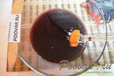 Постный кекс с вишневым вареньем и шоколадом Шаг 5 (картинка)