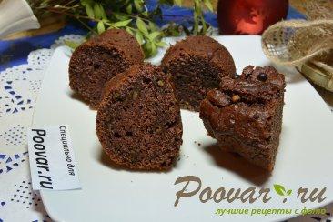 Постный кекс с вишневым вареньем и шоколадом Шаг 12 (картинка)