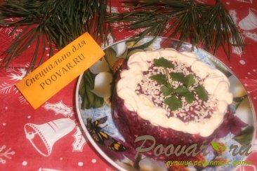 Свекольный салат с плавленым сыром Шаг 6 (картинка)