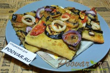 Постная пицца Изображение