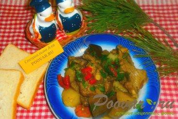 Баранина тушёная с овощами Изображение