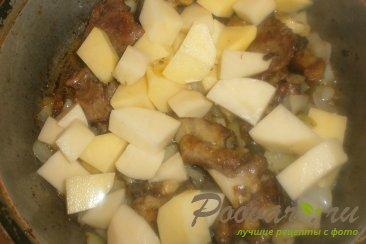 Баранина тушёная с овощами Шаг 10 (картинка)