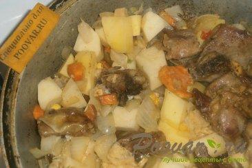 Баранина тушёная с овощами Шаг 11 (картинка)
