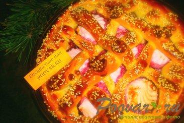 Пирог с вишней и зефиром Шаг 14 (картинка)