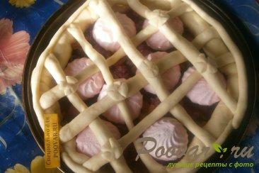Пирог с вишней и зефиром Шаг 11 (картинка)