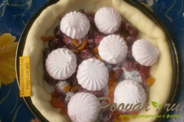 Пирог с вишней и зефиром Шаг 10 (картинка)