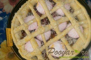 Пирог с вишней и зефиром Шаг 12 (картинка)