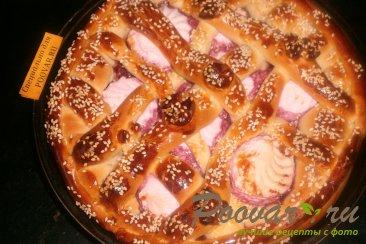 Пирог с вишней и зефиром Шаг 13 (картинка)