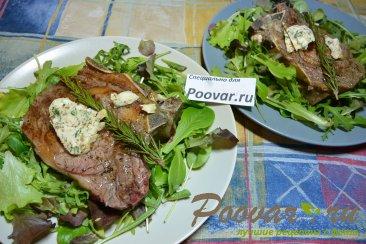 Рибай стейк (Rib steak) на гриле Изображение