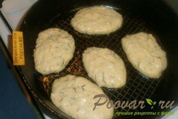 Оладьи из картофельного пюре с зеленью Шаг 5 (картинка)