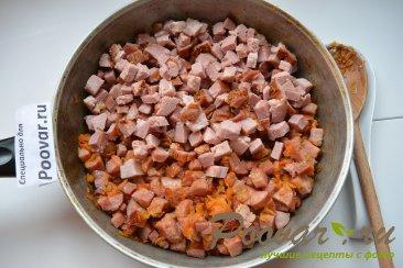 Простая солянка с колбасой и картошкой Шаг 6 (картинка)
