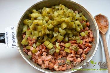 Простая солянка с колбасой и картошкой Шаг 9 (картинка)