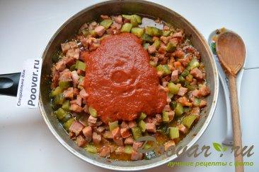 Простая солянка с колбасой и картошкой Шаг 11 (картинка)