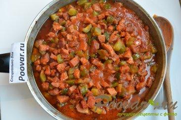 Простая солянка с колбасой и картошкой Шаг 12 (картинка)