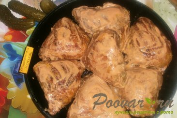 Куриные бёдра в томатно-майонезном соусе Шаг 8 (картинка)