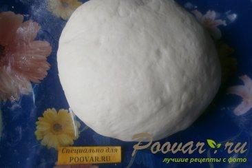 Пирог из рулетиков с грибами и сыром Шаг 6 (картинка)
