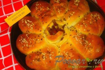 Пирог из рулетиков с грибами и сыром Шаг 16 (картинка)