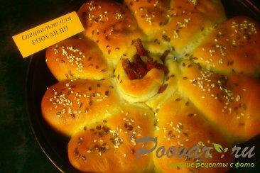 Пирог из рулетиков с грибами и сыром Шаг 15 (картинка)