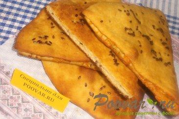 Лепёшки с сыром и чабрецом Шаг 19 (картинка)