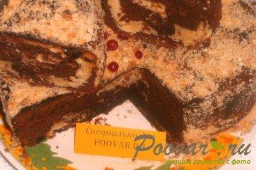 Шоколадно-ореховый кекс с финиками Изображение