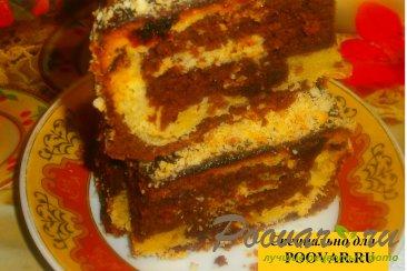 Шоколадно-ореховый кекс с финиками Шаг 13 (картинка)