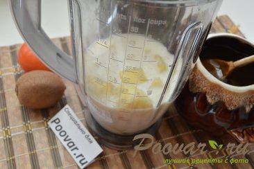 Молочный коктейль с ананасом и киви Шаг 3 (картинка)