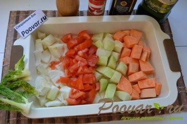 Батат кольраби фенхель запеченные в духовке Шаг 2 (картинка)