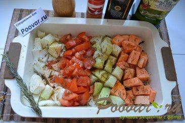 Батат кольраби фенхель запеченные в духовке Шаг 3 (картинка)