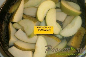 Слойки с грушей и яблоком Шаг 3 (картинка)