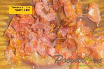 Макароны с куриными сердечками и вялеными помидорами Шаг 5 (картинка)