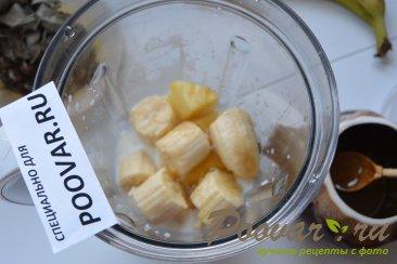Молочный коктейль с бананом и ананасом Шаг 4 (картинка)