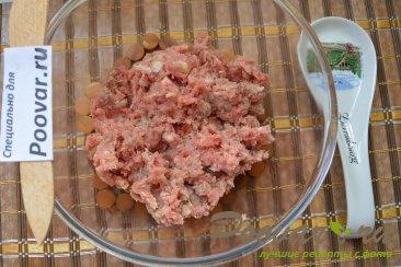 Фрикадельки с грибами в сливочном соусе Шаг 1 (картинка)