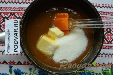 Карамельные кексы из ирисок с ананасом Шаг 3 (картинка)