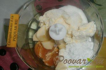 Пирог с мандаринами и яблоками Шаг 6 (картинка)